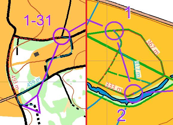 Route Analyzer for MTBO and Ski O