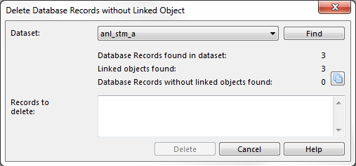 Delete Records without Linked Object
