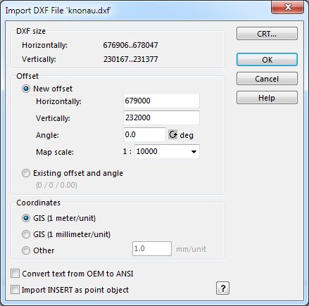 Import Files - OCAD 12 Wiki - English