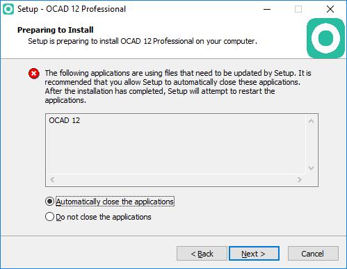 Service Update - OCAD 12 Wiki - English