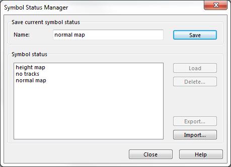 Symbol Status Manager - OCAD 12 Wiki - English